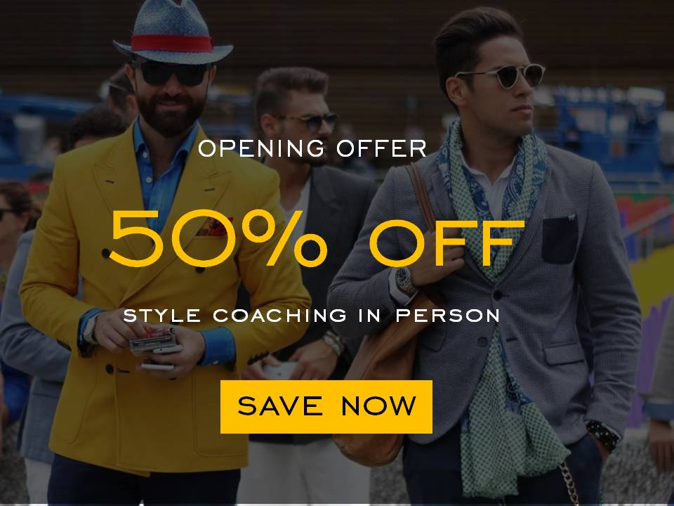Grand Opening Offer, Style Coaching in person, 50% Off, House of Blom