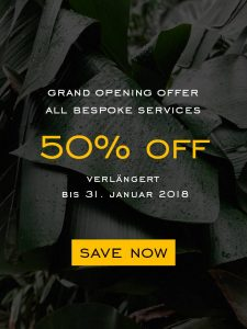 50% OFF - Grand Opening Offer