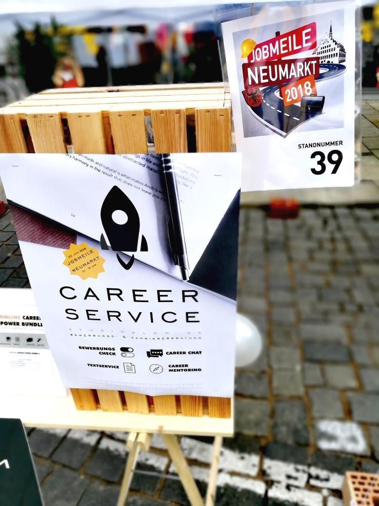 Jobmeile NM 2018 Rückblick Career Service